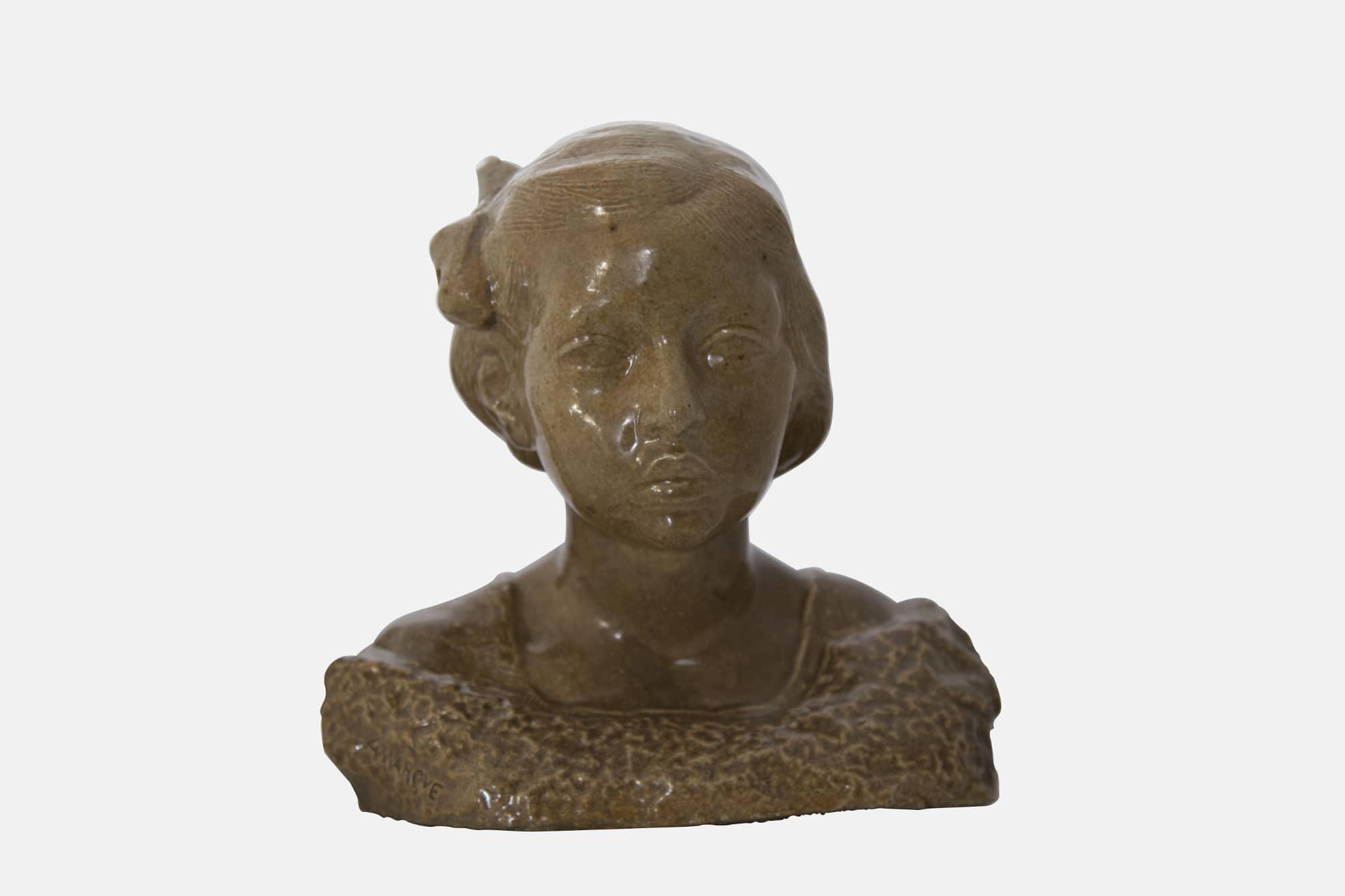 Buste de Marthe Lebasque, fille du peintre Henri Lebasque