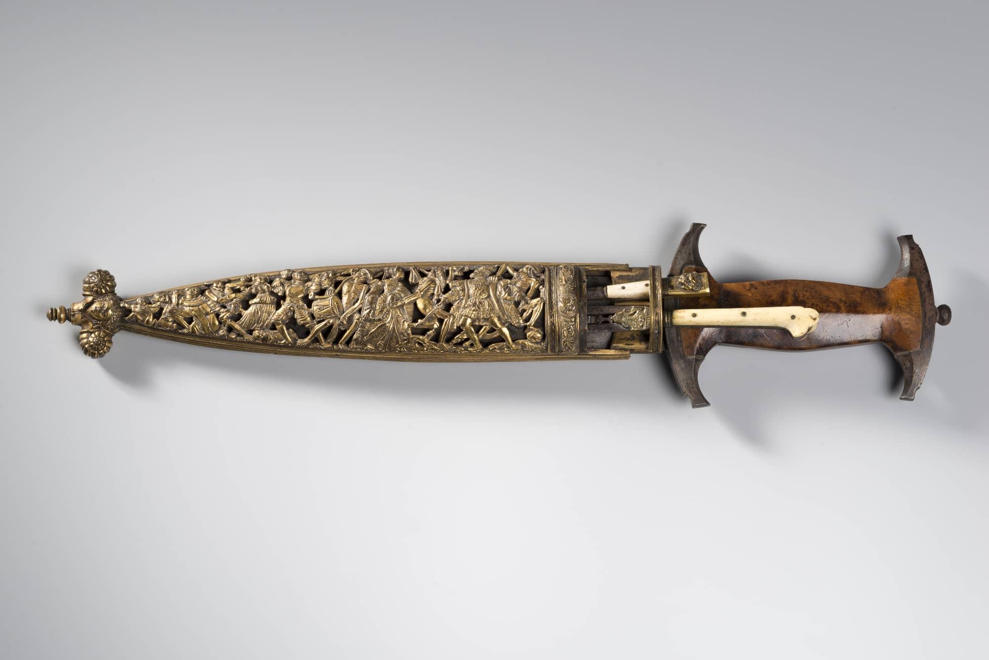 Dague à la Danse macabre dite de type « Holbein »