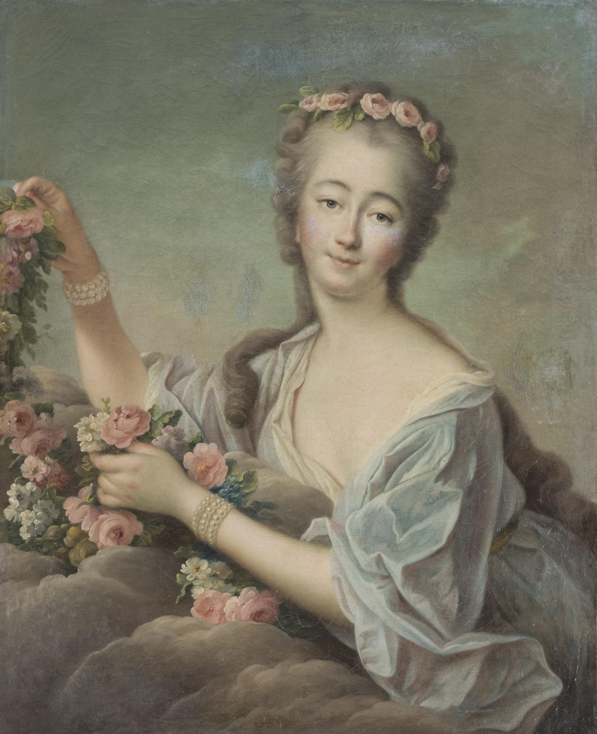 Portrait de Madame Du Barry en Flore