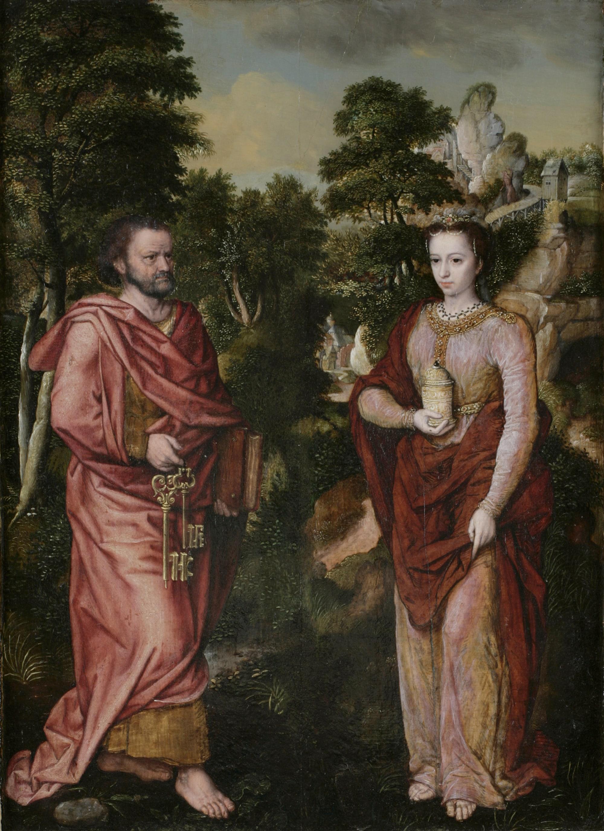 Saint Pierre et sainte Madeleine